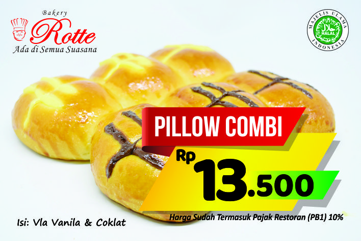 Pillow Combi Rotte Bakery