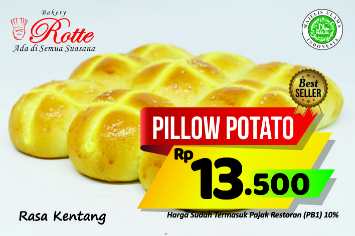 Pillow Potato Rotte Bakery
