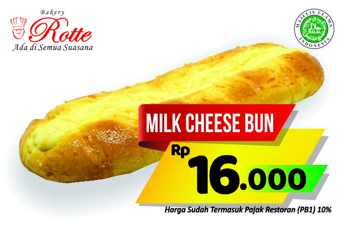 Milk Cheese Bun Rotte Bakery