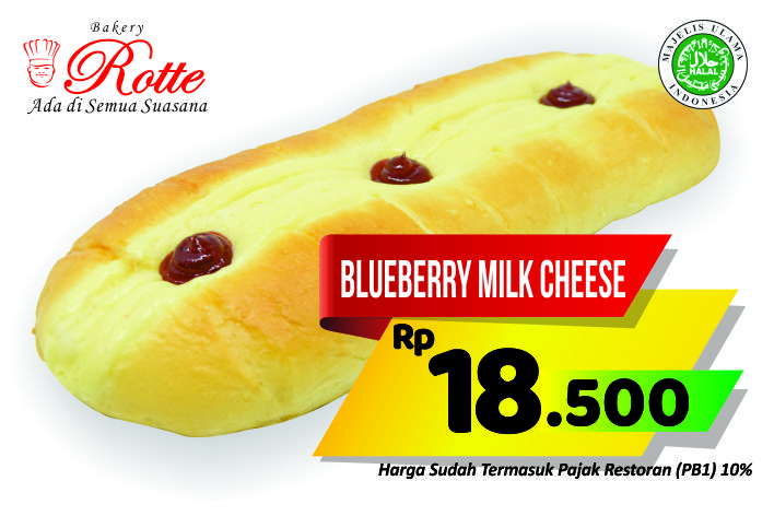 Blueberry Milk Cheese Rotte Bakery