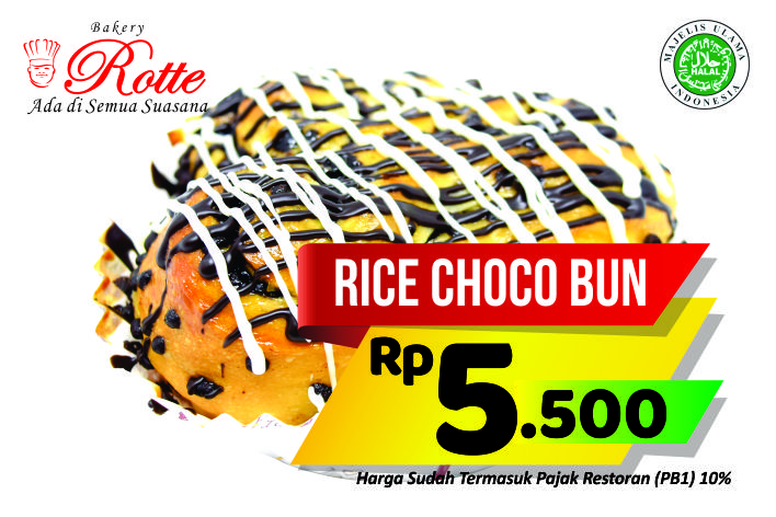 Rice Chocobun Rotte Bakery