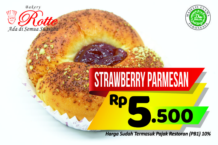 Strawberry Parmesan Rotte Bakery