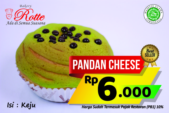Pandan Cheese Rotte Bakery