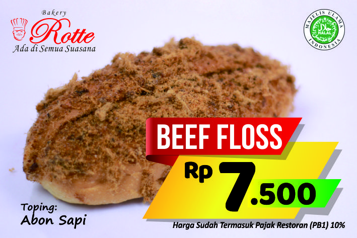 Beef Floss Rotte Bakery